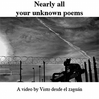 Nearly all your unknown poems