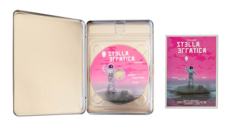Stella Erratica: Signed blu ray steelbooks